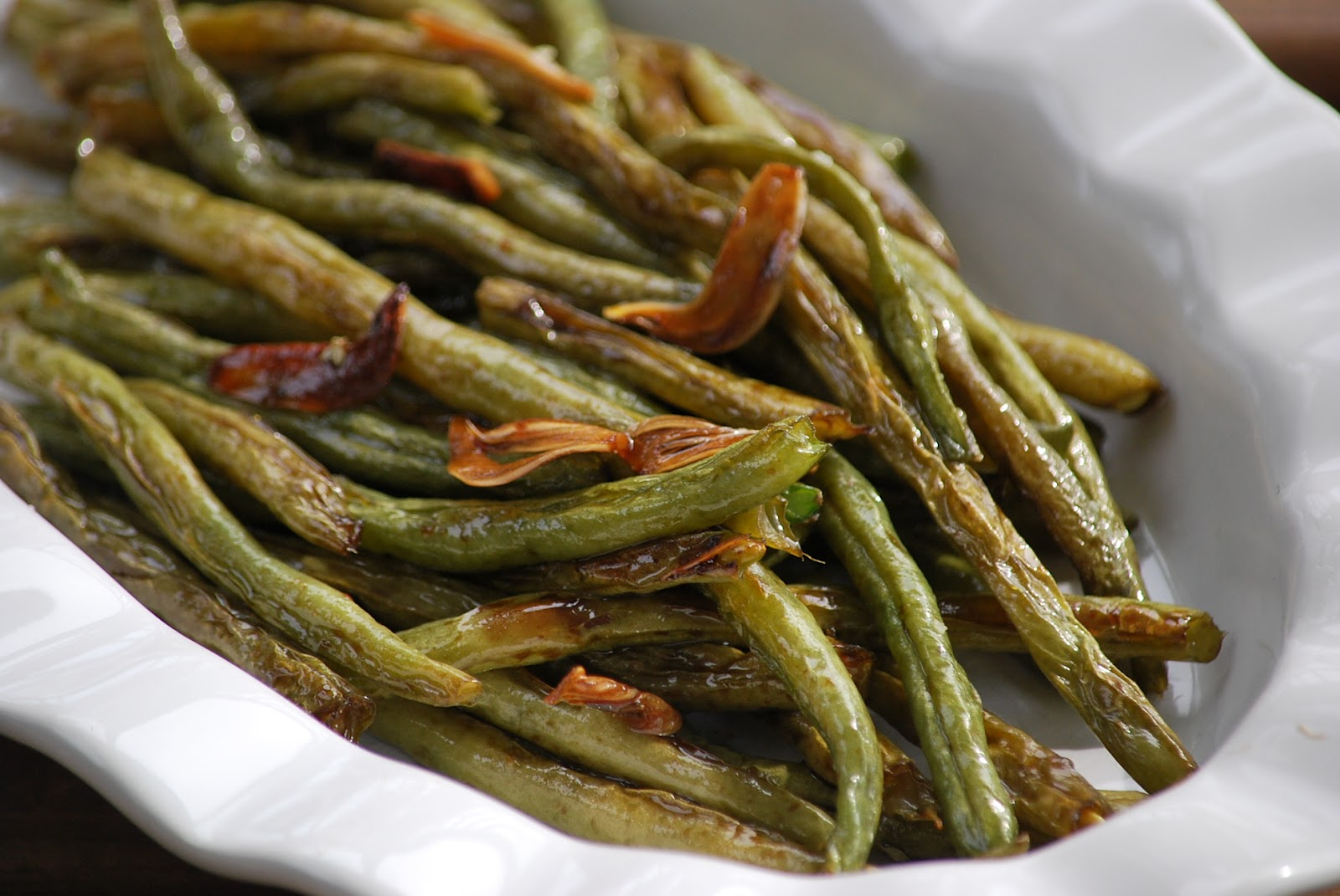 My story in recipes: Roasted Green Beans