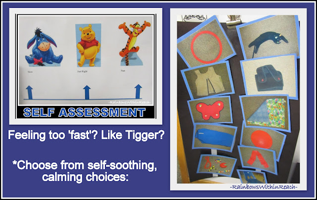 photo of: Self-Assessment for Calming Choices for Children with Special Needs