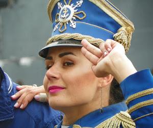 Ricordando l'incrociatore Aurora a San Pietroburgo (foto ap)