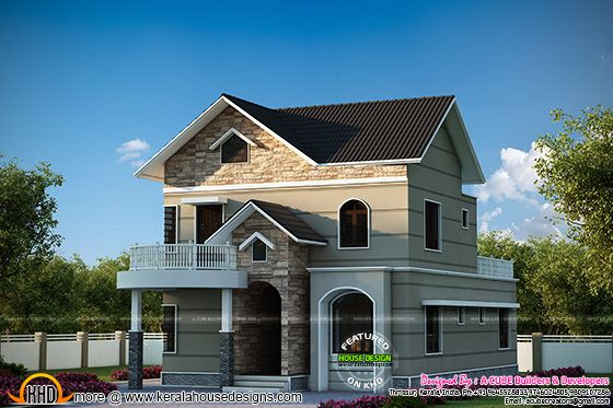 Magnificent kerala dream home kerala home design and for Dream home kerala