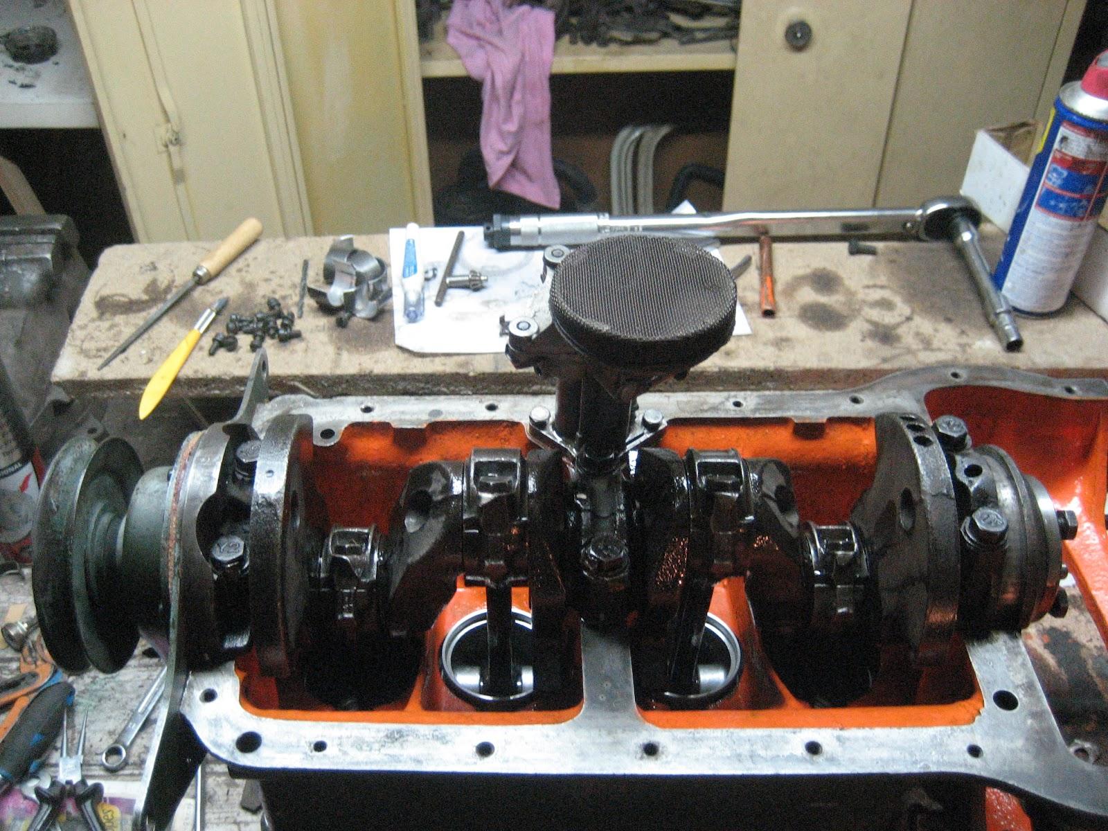 petite quatchol deviendra grande  remise en  u00e9tat complet du moteur