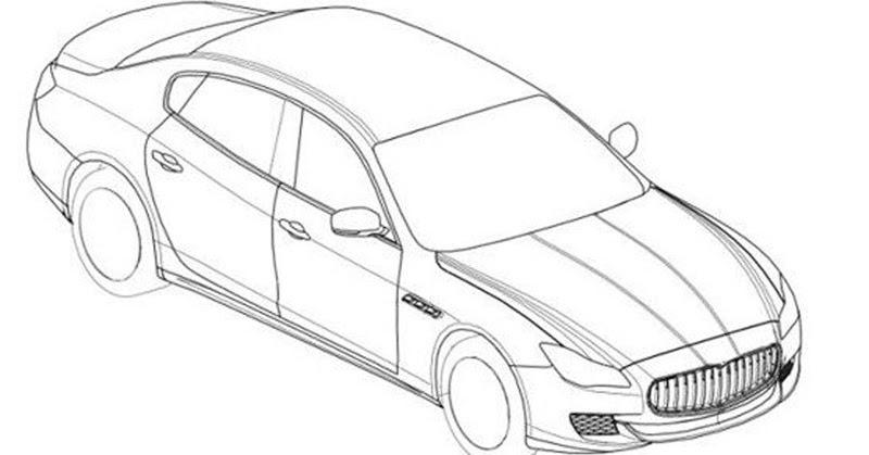maserati quattroporte 2014 drawings car modern Ford GT Classic