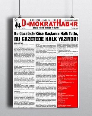 HALKIN HABER ALMA HAKKI ENGELLENEMEZ!