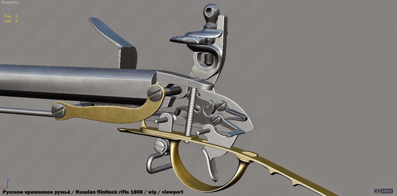 Макет мушкета своими руками 76