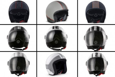 X MOMO HELMET COLLECTIONS 2012 EICMA Model terbaru Jet Helmet Series di EICMA 2012