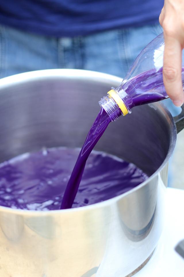 schaeresteipapier Pflanzenfarben selber herstellen, FarbenWorkshop