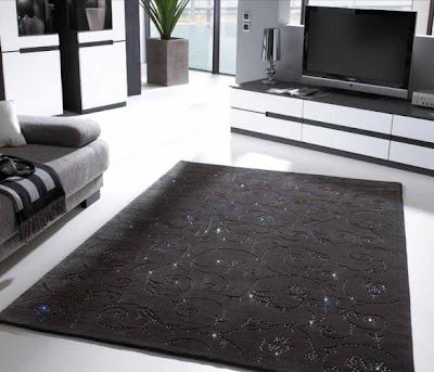alfombras cristales swarovski