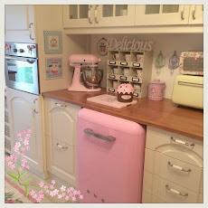 accessori ROSA in cucina...!!!