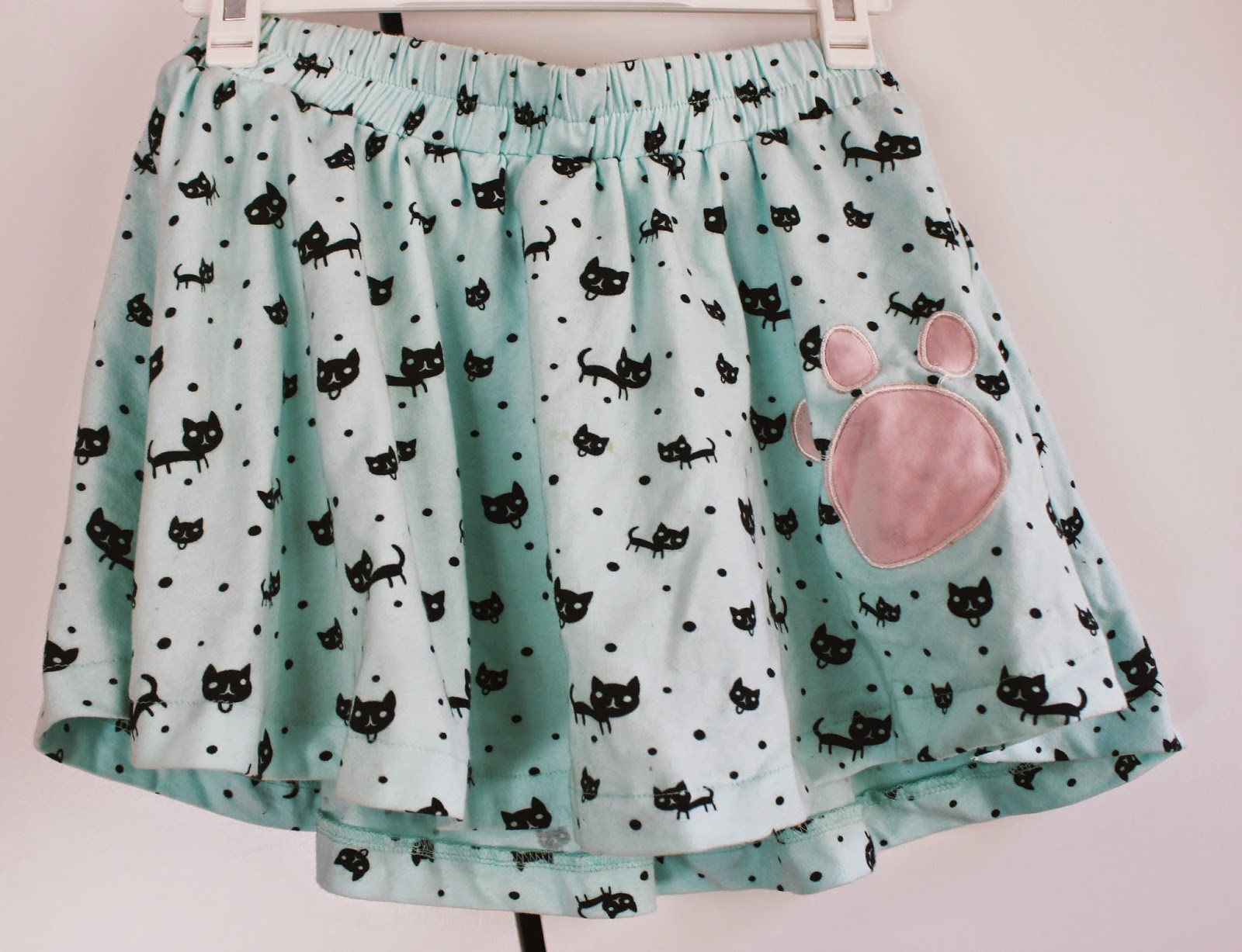Cute Cat Skirt Taobao