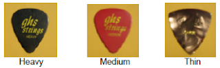 guitar plectrum-pick