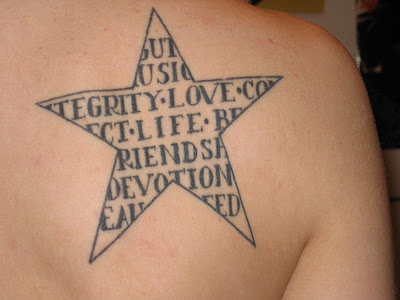 A simple star no doubt looks awesome, but when coupled with few other things like a cross, an angel, sun flames or your initial alphabet, it just gives the entire design a personalized touch, and makes it look unique from the others. Given below are a few assorted star tattoo ideas you might want to have a look at.