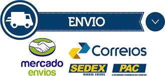 Envio via Correios com Mercado de envios