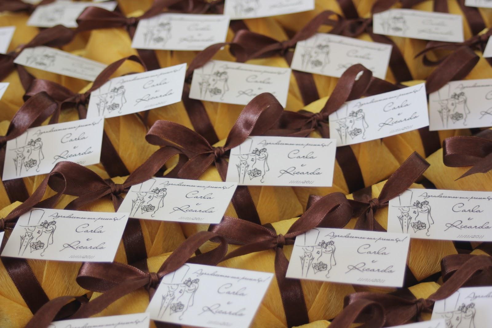 Pix Ateliê: Bem casados para decoração em amarelo e marrom #95692E 1600x1067 Banheiro Amarelo E Marrom