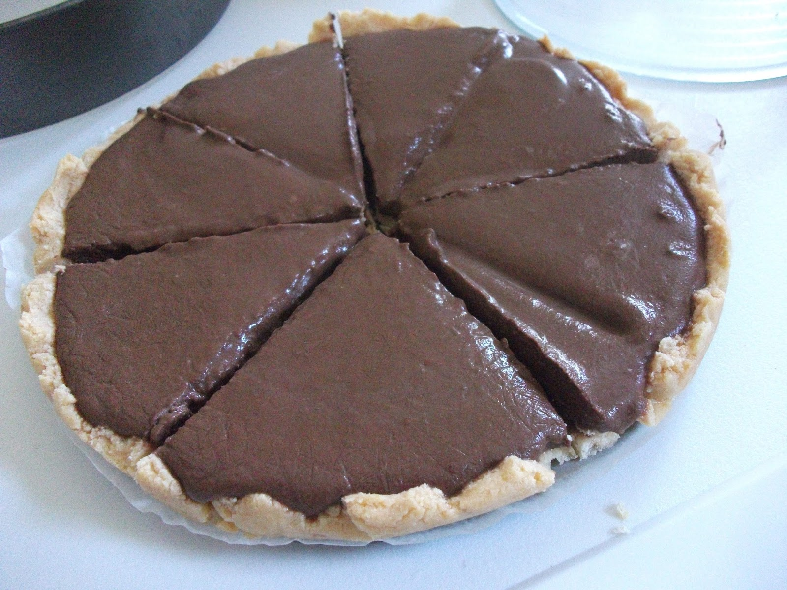... Milk Pie with Coconut Flour Crust (Gluten free, egg free, dairy free