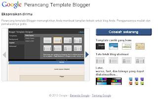 Membuat Tamplate Blogger Sendiri