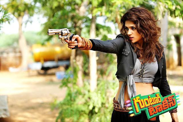 Shraddha Das Stills From Guntur Talkies Movie