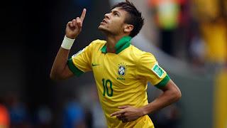 Calcio Coppa America Brasile-Colombia 1
