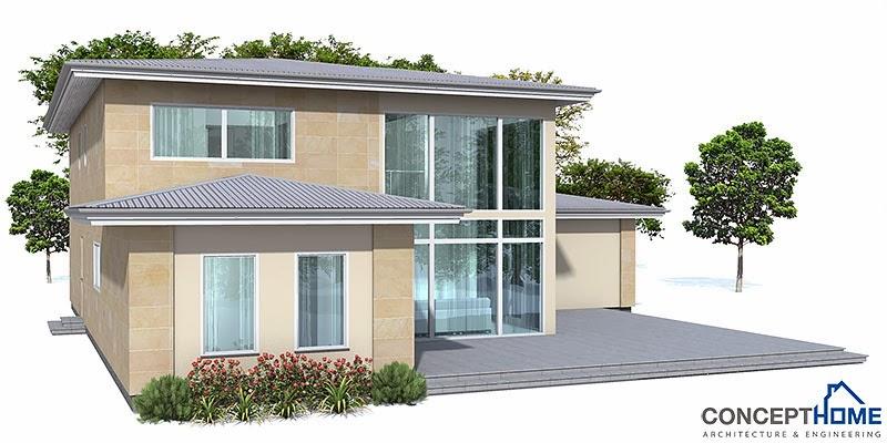 Plantas de casas modernas planta de casa moderna oz18 for Casa moderna 6 parte 2