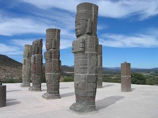 sitio arqueologico de tula