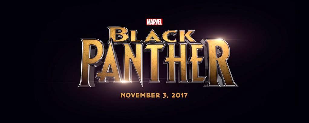 HD Black Panther film poster logo