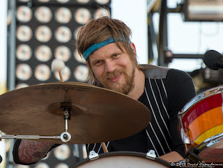 Arnar Rósenkranz Hilmarsson with Of Monsters and Men