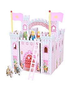 MyHabit: Up to 60% off The Toy Box - Teamson Design Corp Girl's Hand-Carry Castle