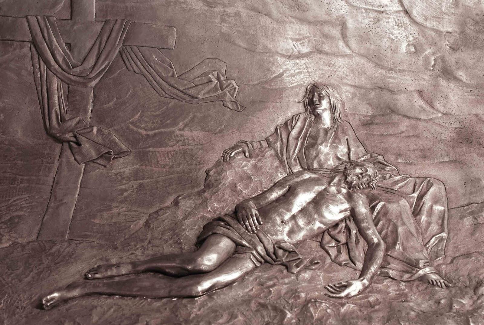 Trono Soledad Semana Santa Cartagena Murcia Arturo Serra escultura 14