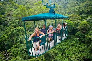 Aerial Tram in Costa Rica