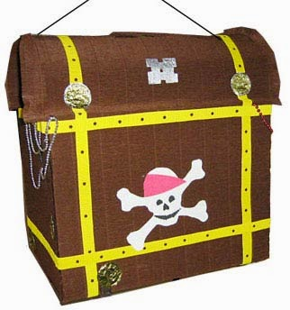 Piñatas Piratas del Caribe, parte 1