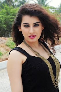 Archana Veda in Very Small Black Dress Spicy Pics