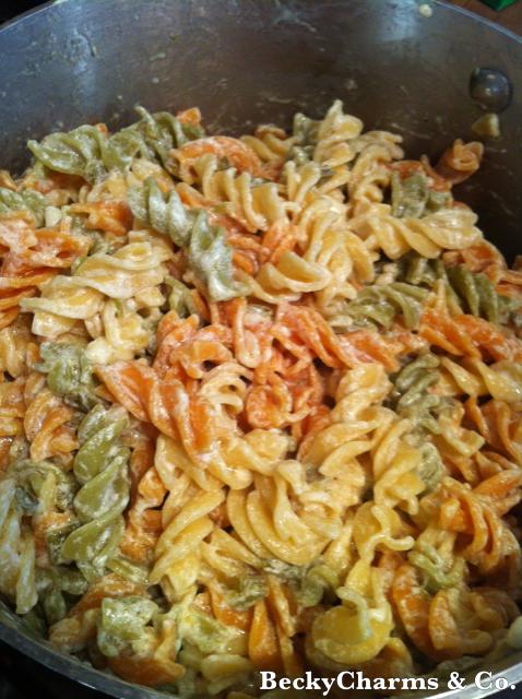 rotini, pasta, noodles