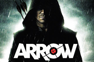 Arrow under Rain HD Wallpaper