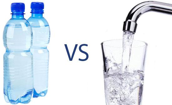 Image result for bottled water vs. tap water