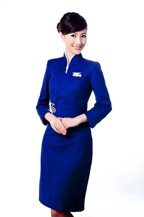 Shenzhen airline hostess pleasuring 6