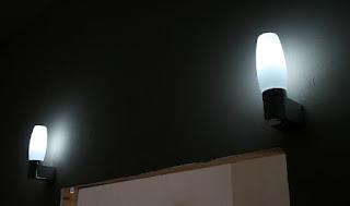 We have vestibule lights in