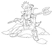 #12 Fox McCloud Coloring Page