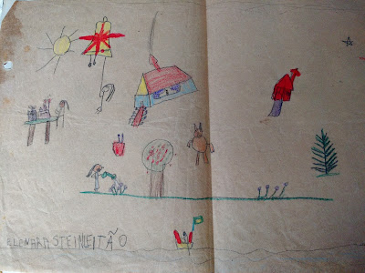 Desenho de arquiteta criança - Elenara Leitão