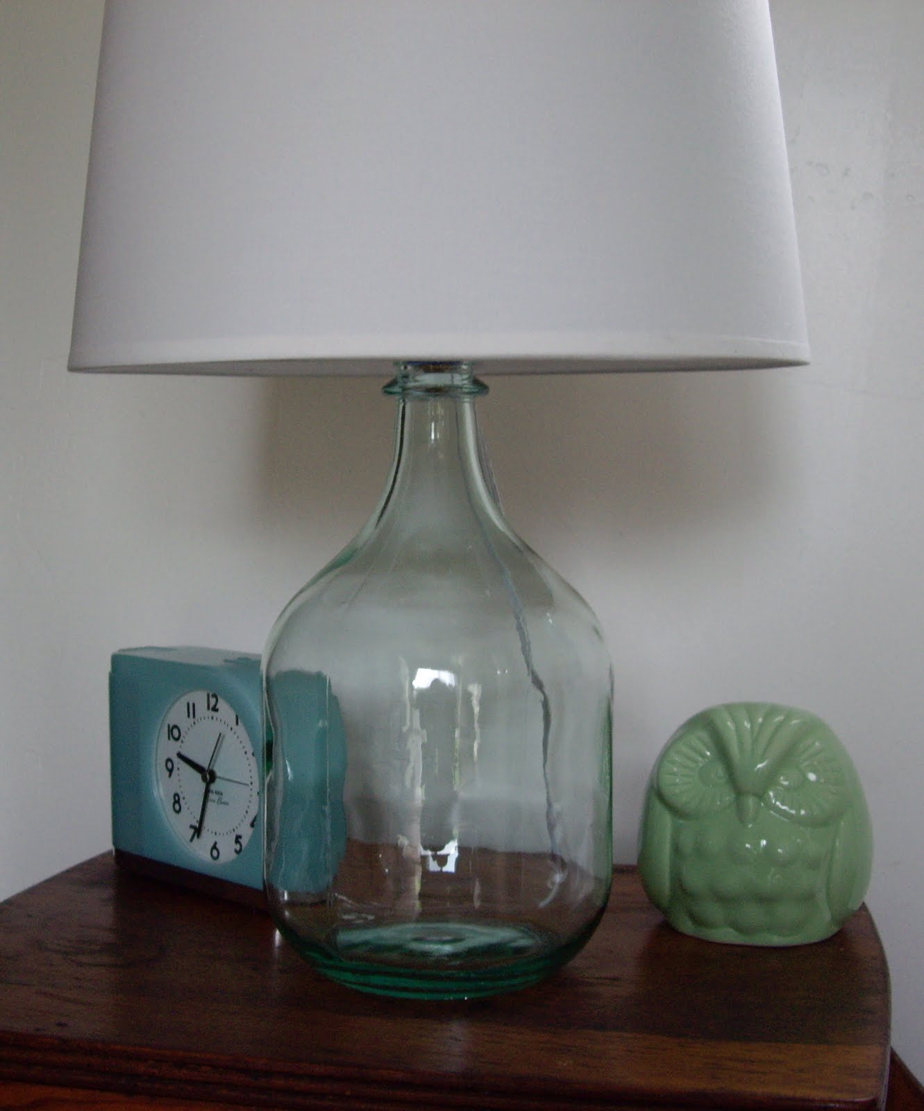 For What It's Worth: Wine Bottle Lamp
