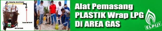 Alat Pemasang Plastik Wrap LPG | Cepat dan Handal | Pemasangan Wrap LPG