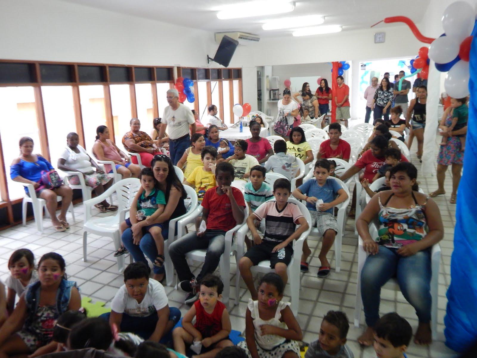 FESTA DA CRIANÇA NA CASA DE DEUS