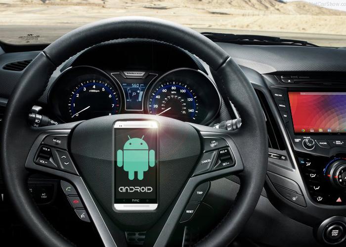 Android en el coche: Pistas sobre su interfaz y su funcionamiento.