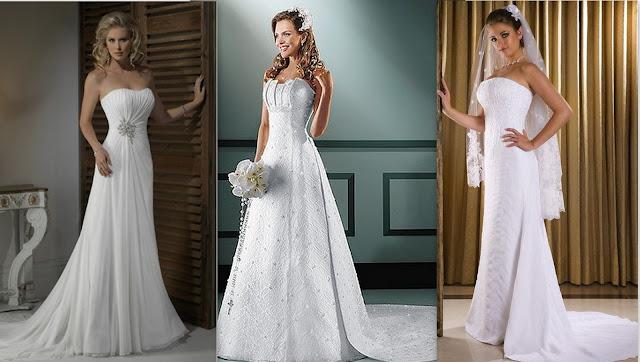 Dicas O vestido de noiva ideal para cada tipo de corpo