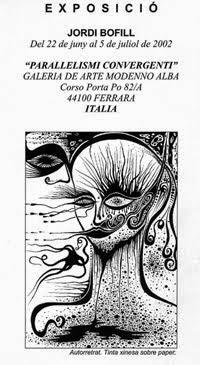 2002. ALBA GALLERY. FERRARA. ITALY.