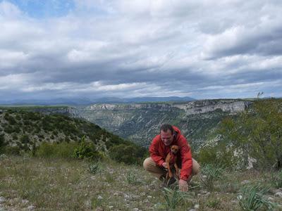 ヴィス峡谷 gorges de la Vis サン・ギエムの道