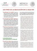 Los Fines de la Educación siglo XXI