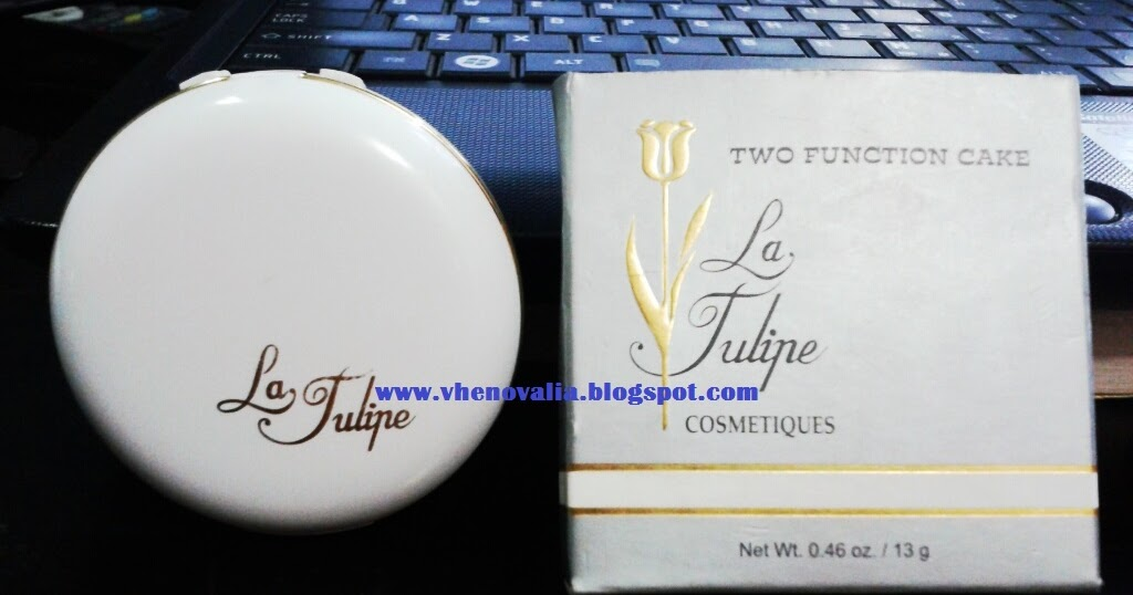 Review Bedak Padat Two Function Cake From LA TULIPE 08
