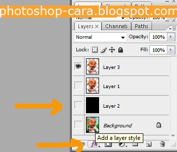 Cara Mengganti Background Foto Photoshop dengan polygonal lasso tool