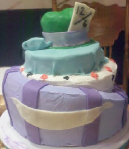 Big Bettie cakes: Alice in Wonderland Cake
