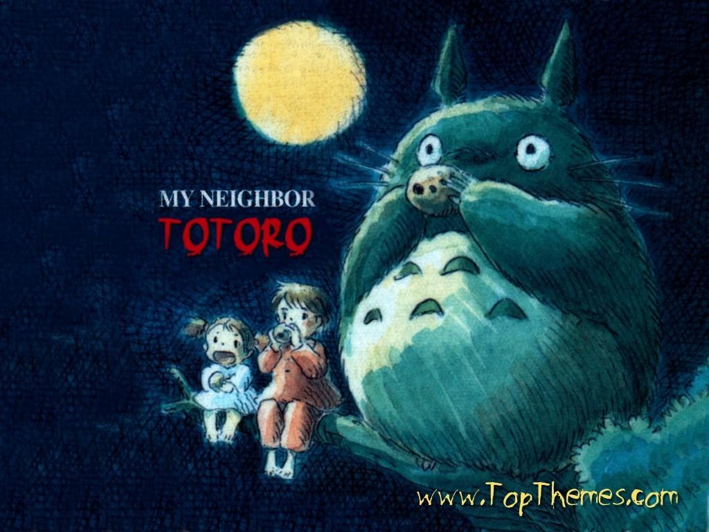 Vapic Wallpapers My Neighbor Totoro Wallpaper