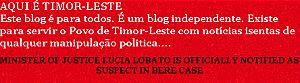 AQUI É TIMOR-LESTE